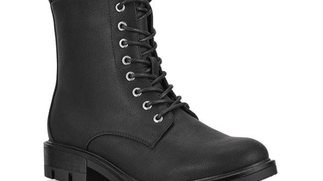 Verali Narita Black Lace up Boots