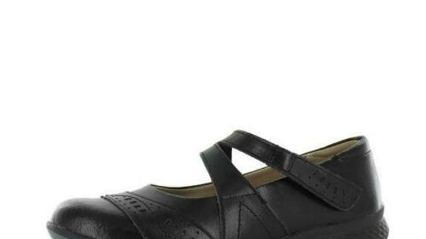 Just Bee Cecilia Black Leather