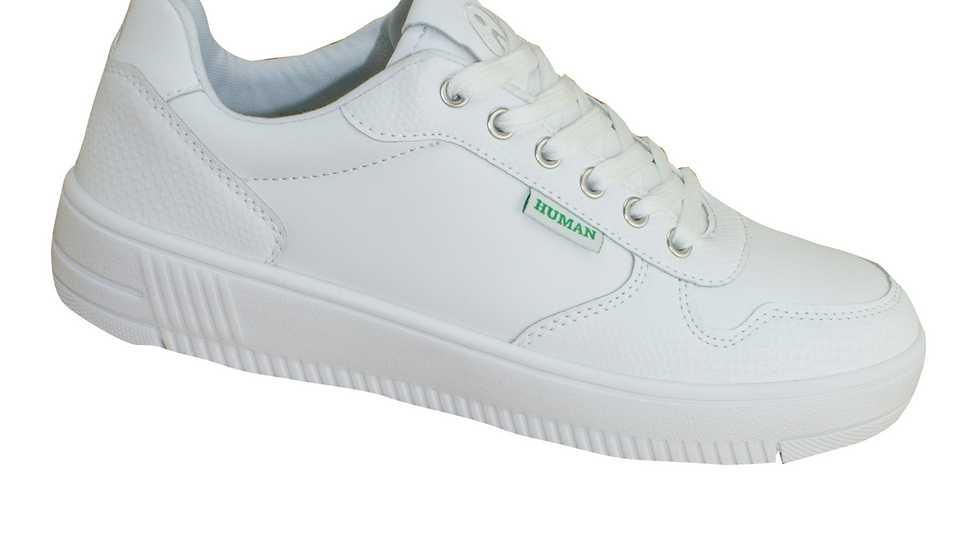 Human Shoes Green Emy White Sneakers