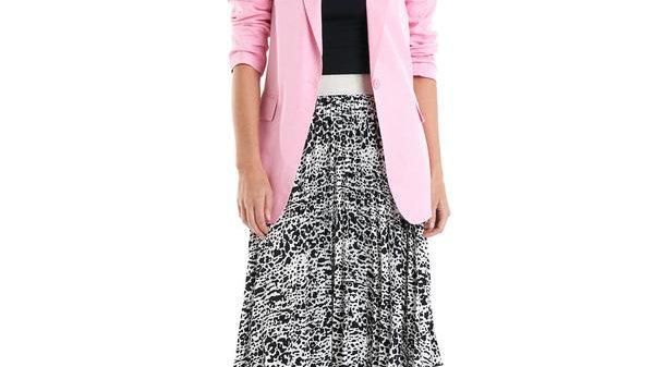 Betty Basics Cohen Floss Pink Blazer