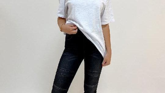 Monaco Jeans Katy Black Denim Jogger Pants