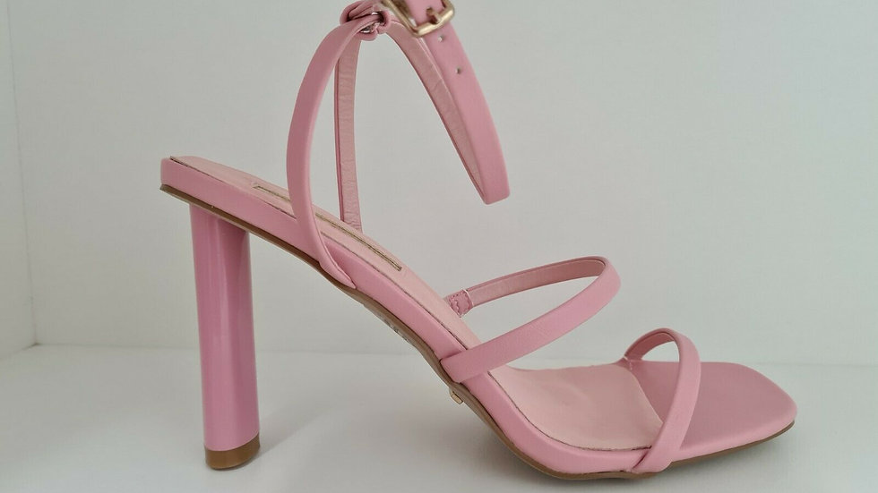 Billini Jackson Watermelon Pink Strappy Heel