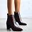 Thumbnail: Billini Shoes Billie Choc Croc Block Heel Boots