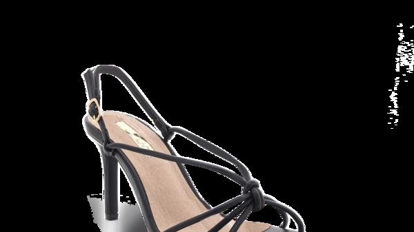 Billini Shoes Janie Black Strappy Heels