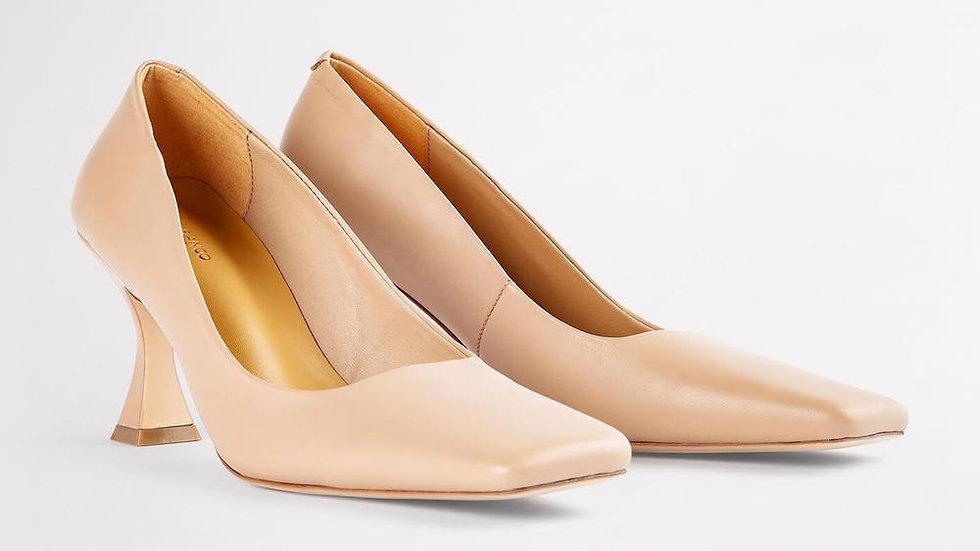Tony Bianco Fancy Calf Leather Court Heels