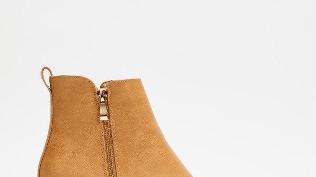 Billini Shoes Oliver Block Heel Ankle Boots