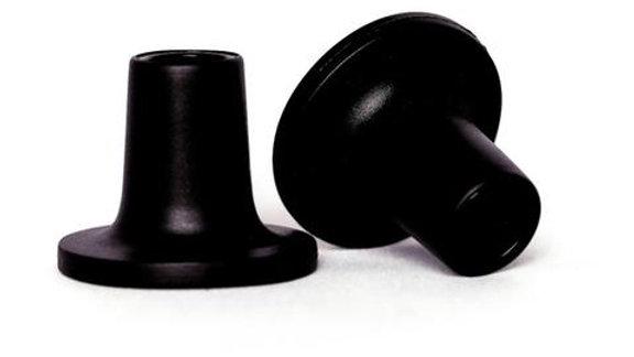 Waproo Clean Heels Heel Stoppers Black & Clear