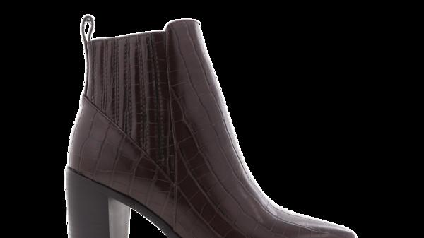 Billini Shoes Billie Choc Croc Block Heel Boots