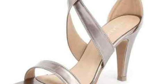 Misano Shoes Savvy Nickle Metallic Heels