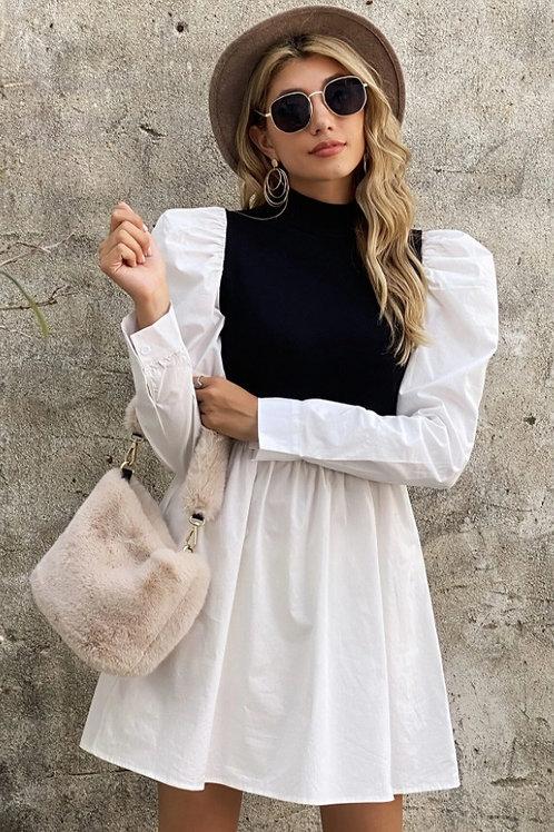 Vestido Esencial combinado