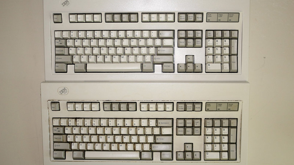 """Batch of """"Soft Touch"""" Model M's"""