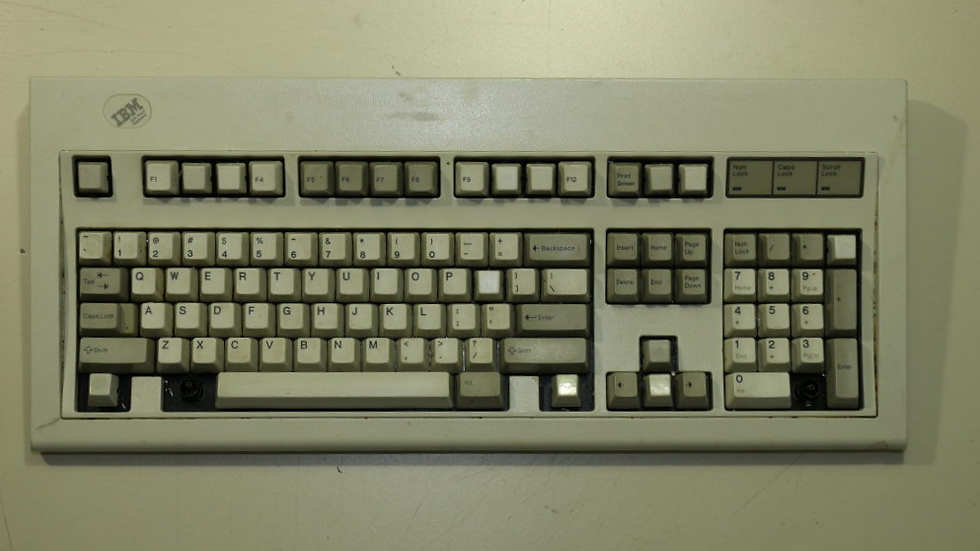 """Soft Touch"" Model M #3"