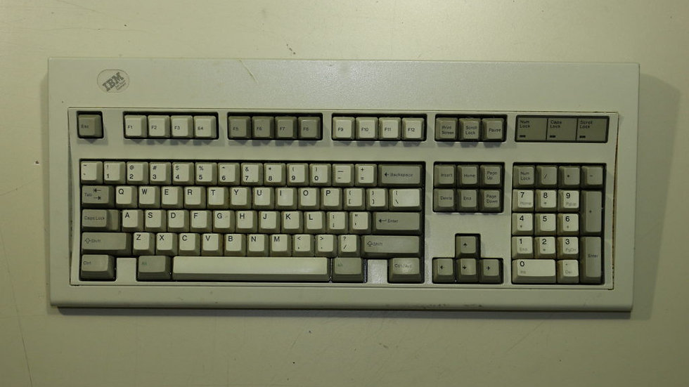 """""""Soft Touch"""" Model M #4"""