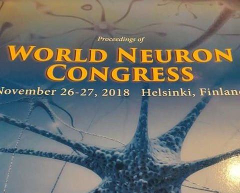 Kumaar Bagrodia, NeuroLeap delivers keynote address at World Neuron Congress, Finland