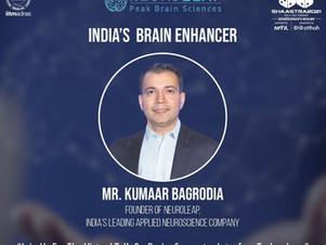 IIT Madras invites Kumaar Bagrodia, NeuroLeap to speak at Shaastra 2021
