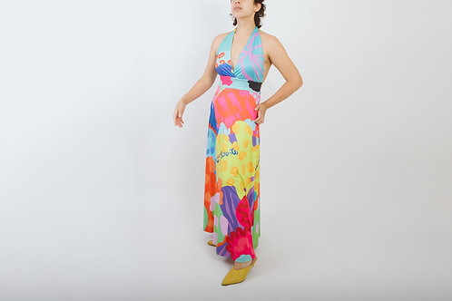 STRETCH DRESS - COLOR BOMB