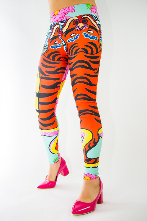 LEGGINGS TIBET TIGER