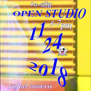 In-situ Open Studio: Rafael Romero (Sat, November 24, 2018)