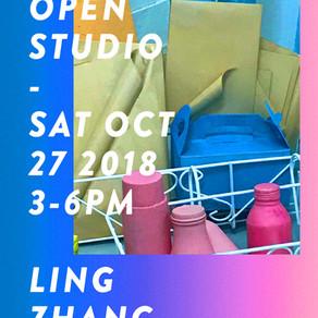 In-situ Open Studio: Ling Zhang (October 27, 2018)