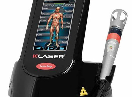 K-laser - the next thing in pain management