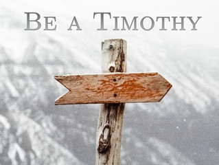 Be a Timothy