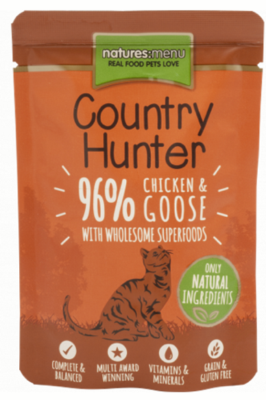 Country Hunter Superfood Pouches for Cats