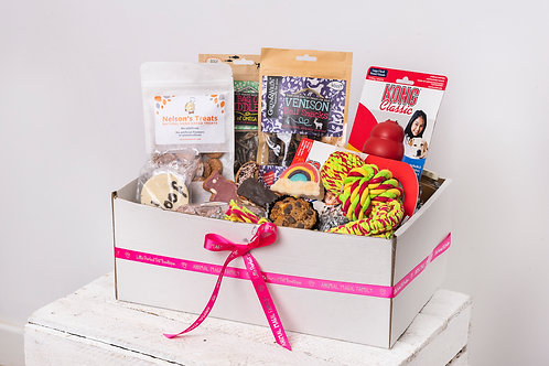 Perfect Pet Treat Box for Dogs - Luxury with Toys