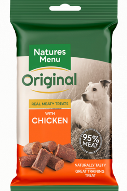 Natures Menu Real Meaty Treats for Dogs