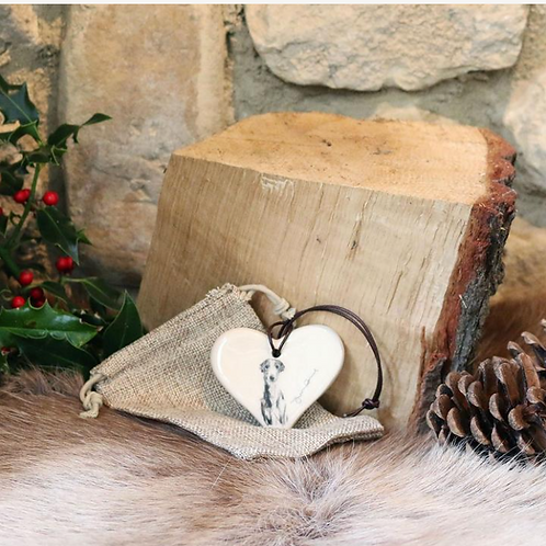 Justine Osborne Ceramic Heart by The Innocent Hound