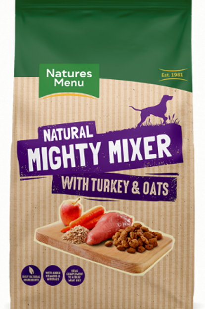 Natures Menu Mighty Mixer Biscuits for Dogs