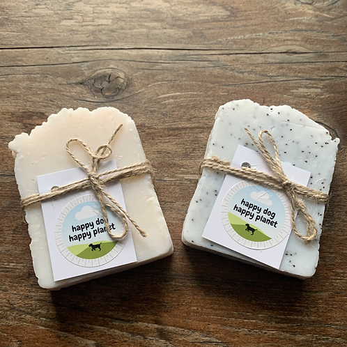 Handmade Soap for Dogs by Happy Dog Happy Planet