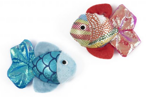 Glitter Fish Cat Toy by Ancol
