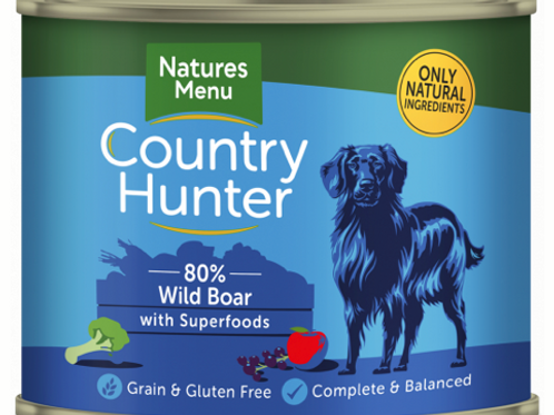 Country Hunter Cans with Superfoods for Dogs