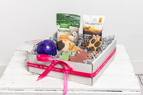 Perfect Pet Treat Box for Dogs - Mixed Mutt with Toy