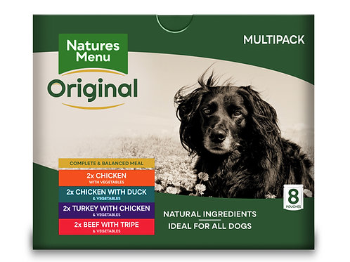 Natures Menu Original Ready-to-Eat Pouch Multipack