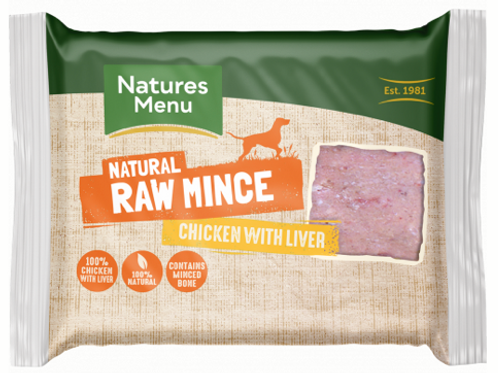 Natures Menu Raw Mince for Dogs