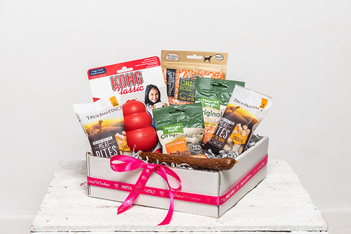 Perfect Pet Treat Box for Dogs - Meaty Madness with Toy