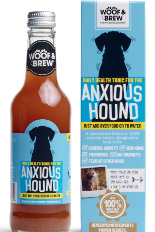 Woof & Brew - Anxious Hound