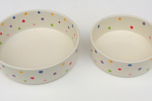 Personalised Pet Bowls - The Simple & Stylish Range - by Purple Glaze Pottery