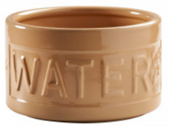 Cane Lettered Water Bowl for Dogs by Mason Cash