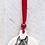 Thumbnail: Hanging Pet Portrait Decoration by Purple Glaze Pottery