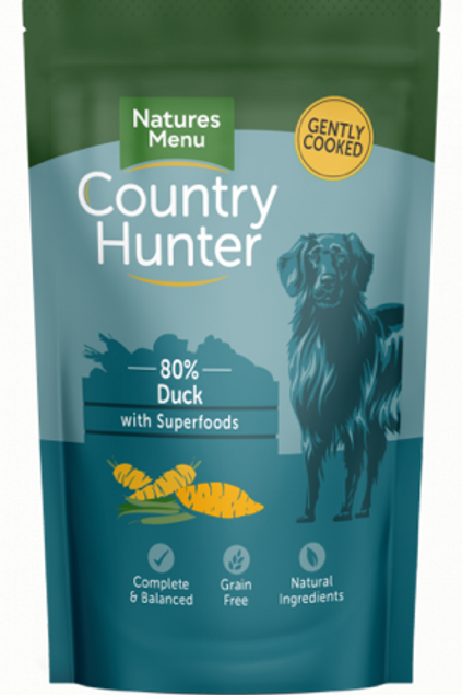 Country Hunter Superfood Meat Pouches