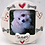 Thumbnail: Personalised Picture Frame by Purple Glaze Pottery