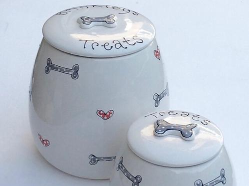Designer Range Treat Jars by Purple Glaze Pottery