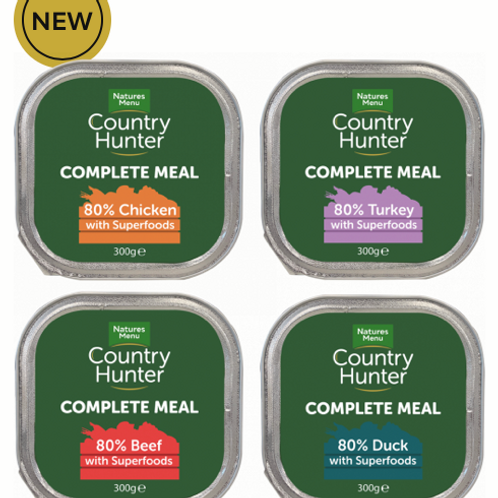 Country Hunter Complete Meal Trays