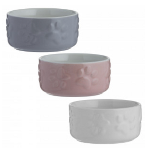 Stoneware Pet Bowls by Mason Cash