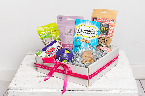 Perfect Pet Treat Box for Cats - Soft Purrer