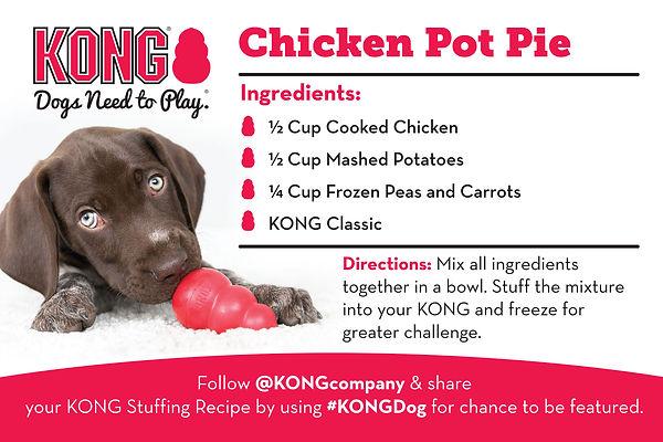 KONG Chicken Pot Pie Recipe