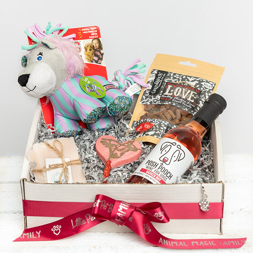 Perfect Pet I Woof U Valentines Gift Box for Dogs