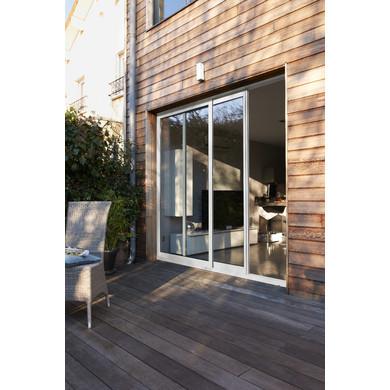 baie coul classic alu dormant de 100 mm ouv gauche e menuiserie. Black Bedroom Furniture Sets. Home Design Ideas